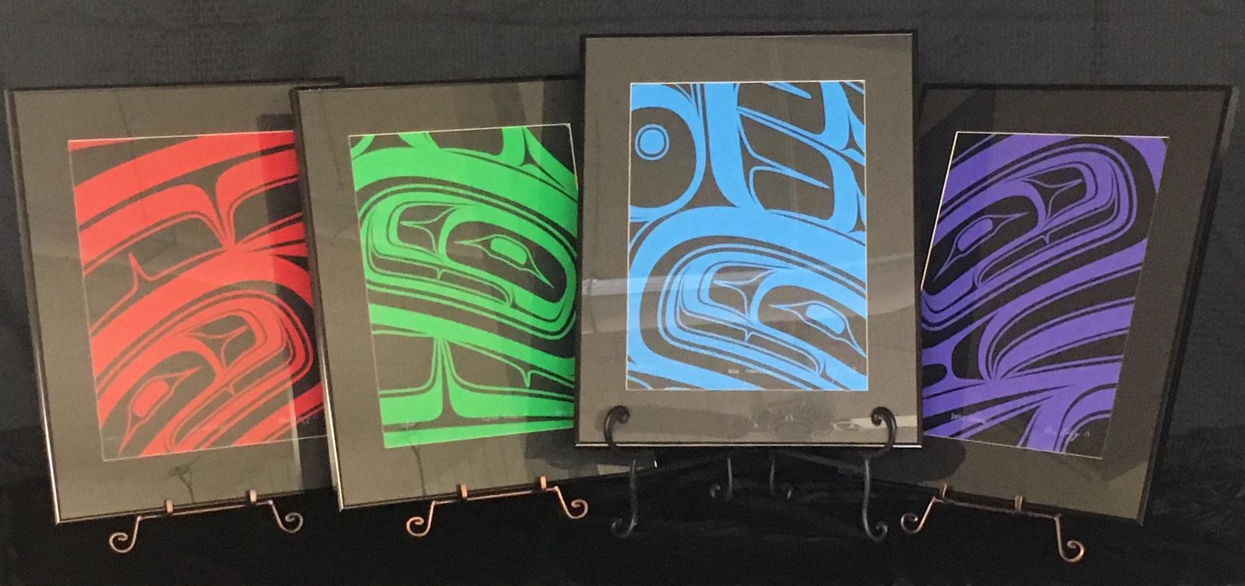 Formline Print Set by Alano Edzerza